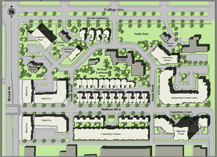 Canterbury Park Apartment And Townhome Condominiums In The